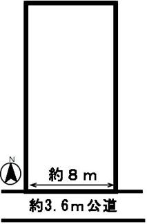 【区画図】48976 羽島郡笠松町田代土地