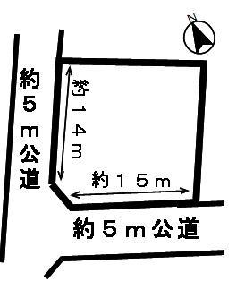 【区画図】49753 揖斐郡大野町大字大野土地