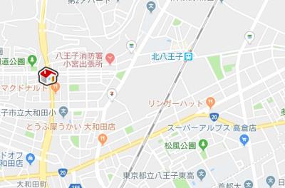 【地図】レオパレス椎の実3(33973-401)