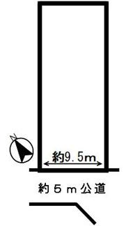 【区画図】43152 岐阜市茜部辰新土地