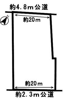 【区画図】53010 美濃加茂市草笛町土地