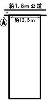 【区画図】53621 羽島市新生町土地