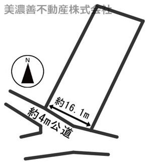 【区画図】23915 郡上市高鷲町大鷲土地