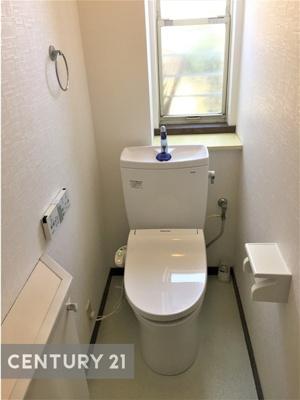 洗浄機能付き1階トイレ