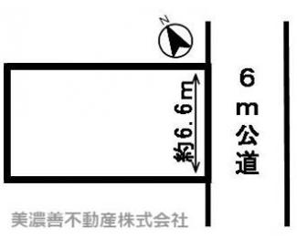 【区画図】45269 岐阜市梅河町土地