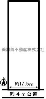 【区画図】47290 岐阜市折立土地