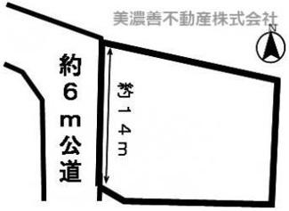 【区画図】47649 不破郡関ケ原町大字関ケ原土地