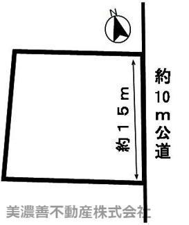 【区画図】47650 本巣市文殊土地