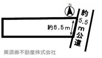 【区画図】49878 各務原市蘇原青雲町土地