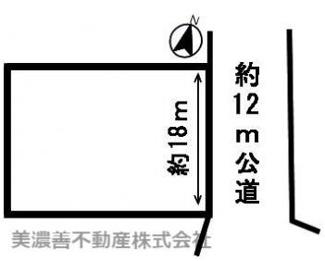 【区画図】52575 高山市石浦町土地