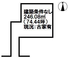 【区画図】南春日町