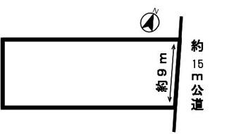 【区画図】30133 岐阜市早田大通土地