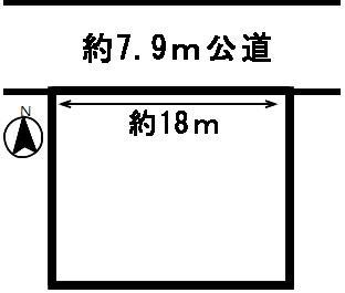 【区画図】49409 岐阜市芥見土地