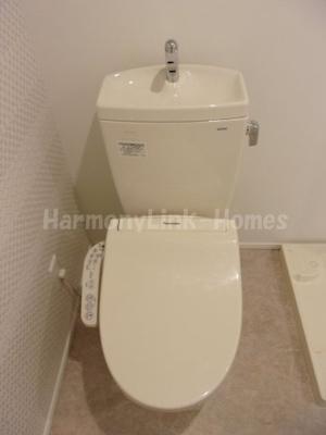 Arvita小岩のシンプルで使いやすいトイレです