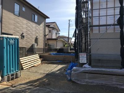 【駐車場】鴻巣市生出塚2丁目 新築分譲住宅全1棟