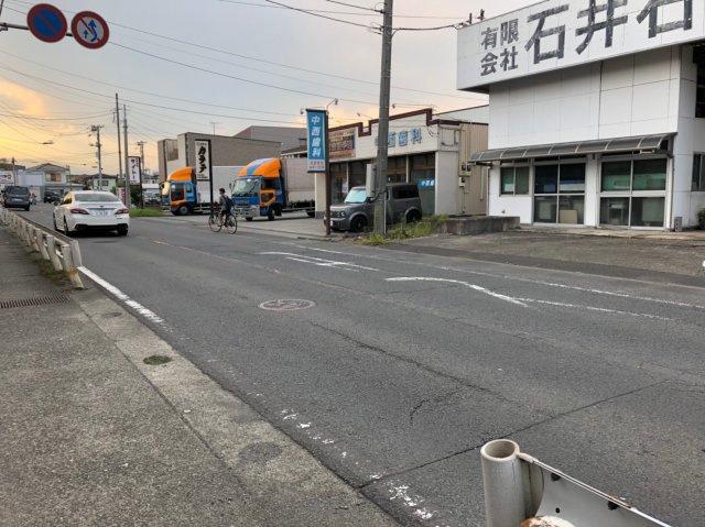 【前面道路含む現地写真】小田原市前川売地