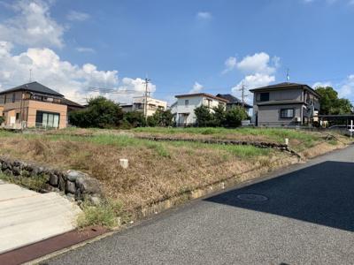 【前面道路含む現地写真】高山町③号地