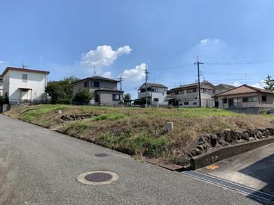 【前面道路含む現地写真】高山町④号地