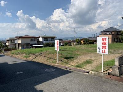 【前面道路含む現地写真】高山町⑤号地