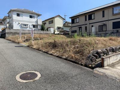 【前面道路含む現地写真】高山町⑧号地