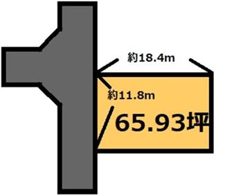 【土地図】清風台団地 170万円
