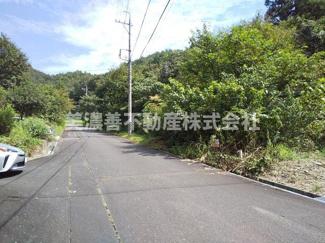【前面道路含む現地写真】49870 山県市大門土地
