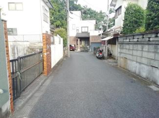 【前面道路含む現地写真】千葉市緑区土気町 売地 外房線土気駅