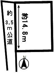 【区画図】50778 山県市佐賀土地
