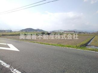 【前面道路含む現地写真】50989 岐阜市小西郷土地