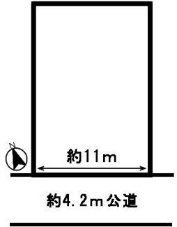 【区画図】51022 岐阜市上西郷土地