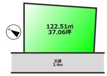 千葉市緑区高津戸町 売地 外房線土気駅 の画像