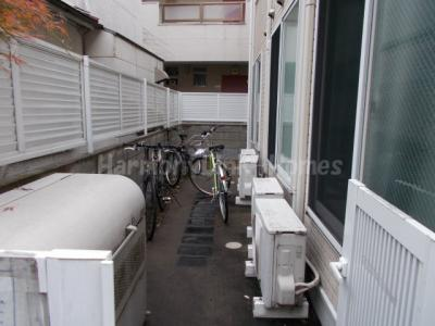 シエスタリンダの駐輪スペース