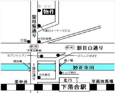 シエスタリンダの地図☆