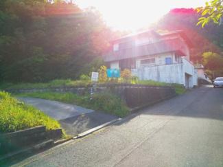 【前面道路含む現地写真】30275 岐阜市大蔵台土地