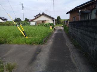 【前面道路含む現地写真】45050 瑞穂市穂積土地