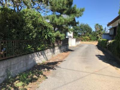 【前面道路含む現地写真】深谷市榛沢 2562万 土地