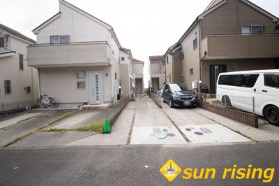 前面道路は交通量も少なくお子様がいるご家庭でも安心の住環境となっております。