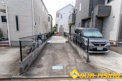 【駐車場】武蔵村山市大南2丁目 中古一戸建て