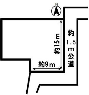 【区画図】53094 岐阜市切通土地
