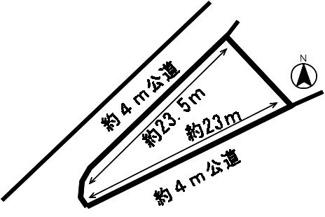 【区画図】53111 岐阜市岩田坂土地