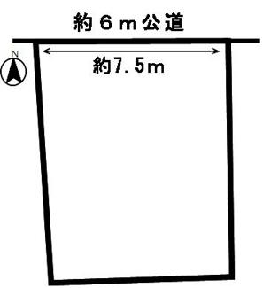【区画図】53659 岐阜市加納本町土地