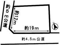 50060 岐阜市石谷土地 の画像