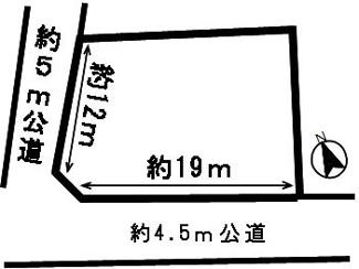 【区画図】50060 岐阜市石谷土地