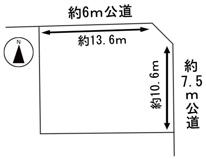 49681 岐阜市下奈良土地 の画像