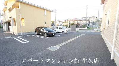 【駐車場】ボヌール・フラグランスC