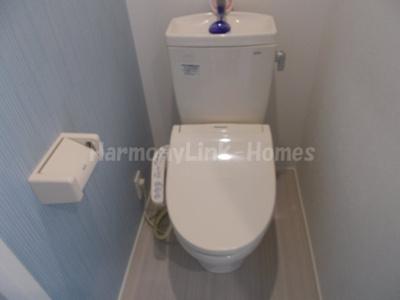 アーバンテラス四谷南元町のコンパクトで使いやすいトイレです(同一仕様写真)☆