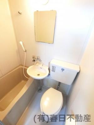 【浴室】川名コーポ