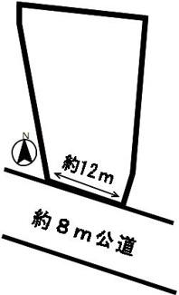 【外観】52858 瑞穂市田之上土地