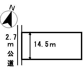 【区画図】24938 山県市藤倉土地