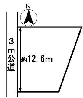 【区画図】33466 山県市佐賀土地